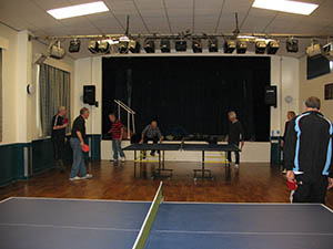 Main Hall Stage